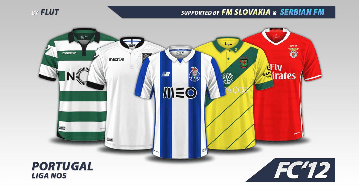 Portugal Liga NOS kits 2016/17