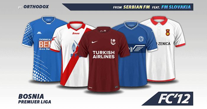 fc12 bosnia premijer liga kits 2016 17