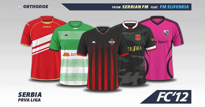fc12 serbia prva liga kits 2016 17