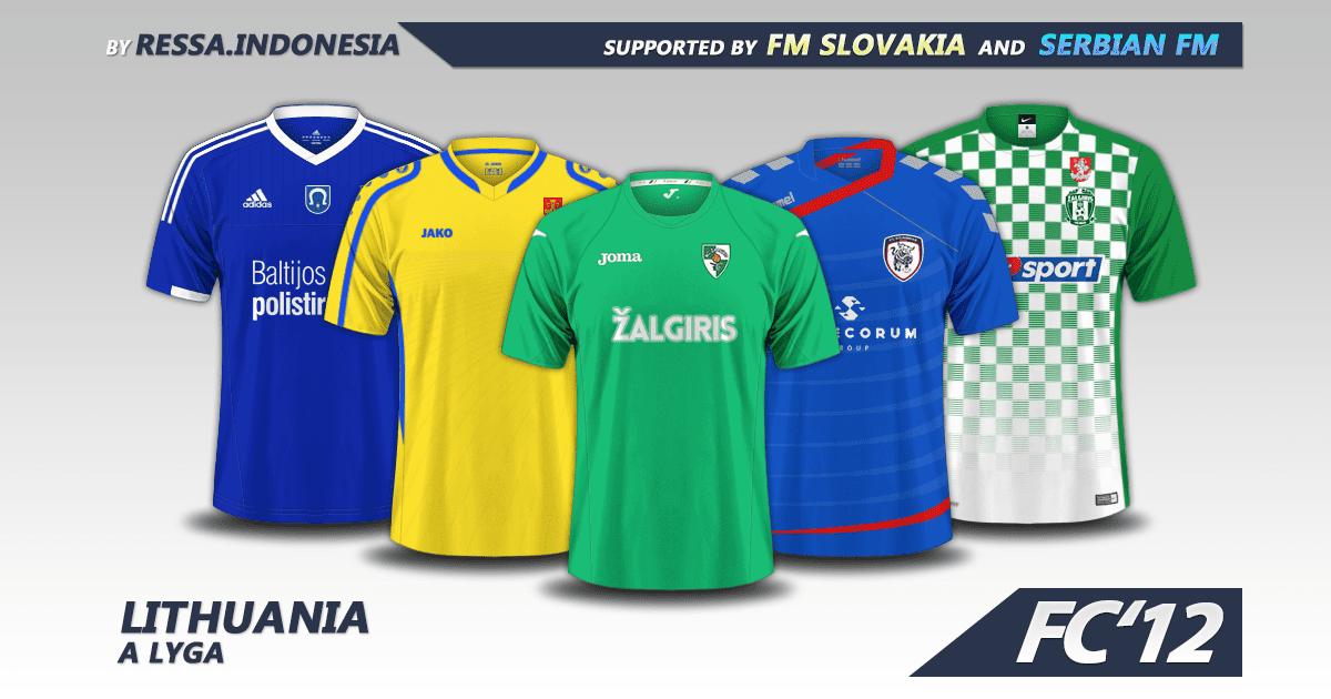 Lithuania A Lyga kits 2016