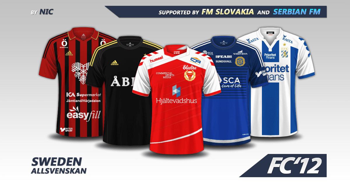 Sweden Allsvenskan kits 2016