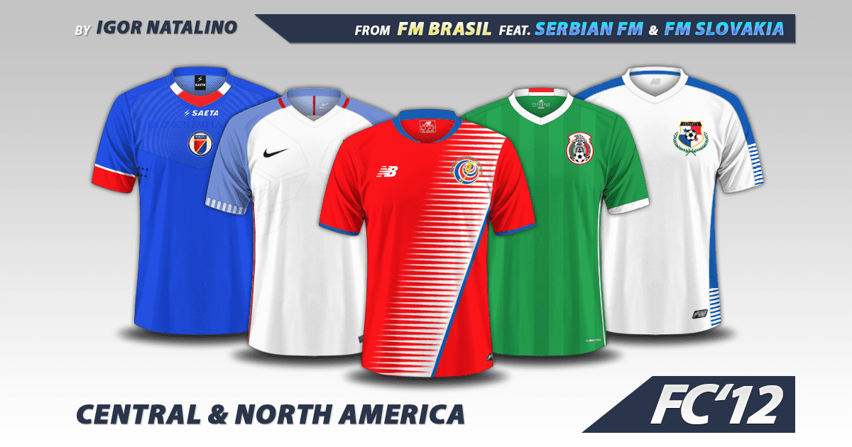 Football Manager 2017 Kits - Central & North America Nations 2016