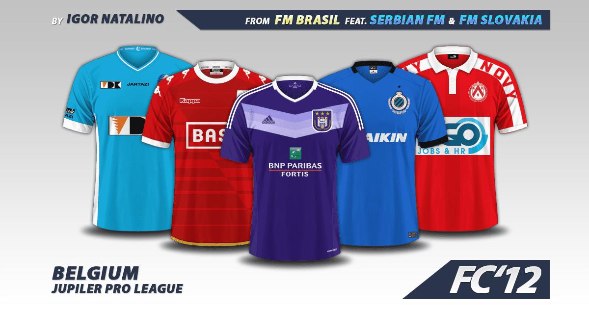 Belgium Jupiler Pro League 2016 17 Kits Fm Scout