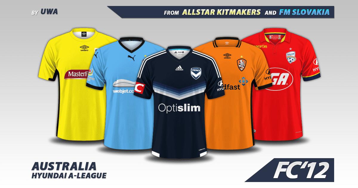 Football Manager 2017 Kits - Australia Hyundai A-League