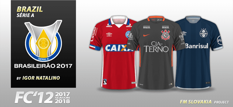 100% authentic ea707 ef1d4 FC'12 Brazil – Série A 2017 (v1.03) – FM Slovakia
