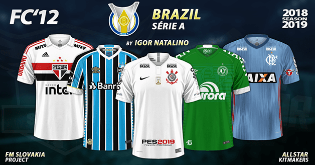 Football Manager 2019 Kits - FC'12 Brazil – Série A 2018