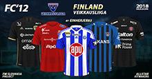 FC'12 Finland – Veikkausliiga 2018