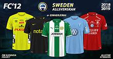 FC'12 Sweden – Allsvenskan 2018
