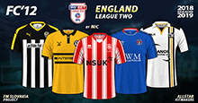 FC'12 – England – League Two 2018/19