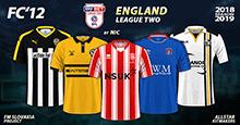 FC'12 – England – League Two 2018/19