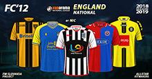 FC'12 – England – National League 2018/19