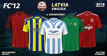 FC'12 – Latvia – Virsliga 2018