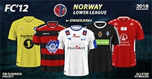 FC'12 Norway – Various from lower leagues 2018