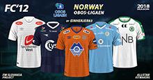 FC'12 Norway – OBOS-ligaen 2018