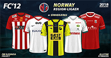 FC'12 Norway – Region-ligaen 2018