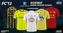 FC'12 Norway – Norsk Tipping-ligaen 2018