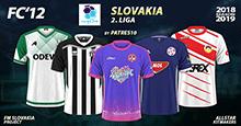 FC'12 Slovakia – 2. liga 2018/19