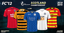FC'12 - Scotland – Championship 2018/19