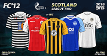 FC'12 – Scotland – League Two 2018/19