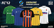 FC'12 – Ukraine – Premier league 2018/19