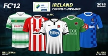 FC'12 – Ireland – Premier Division 2018