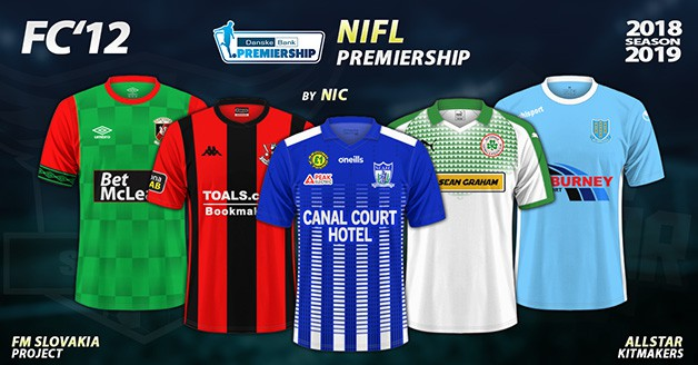 Football Manager 2019 Kits - FC'12 – Northern Ireland – Premiership 2018/19
