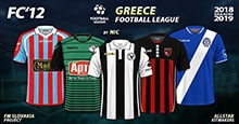 FC'12 – Greece – Football League 2018/19