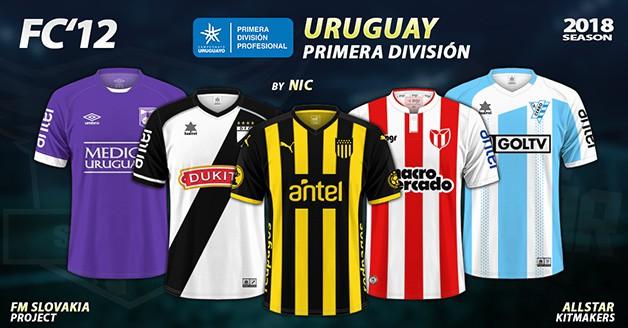 Football Manager 2019 Kits - FC'12 – Uruguay – Primera Division 2018