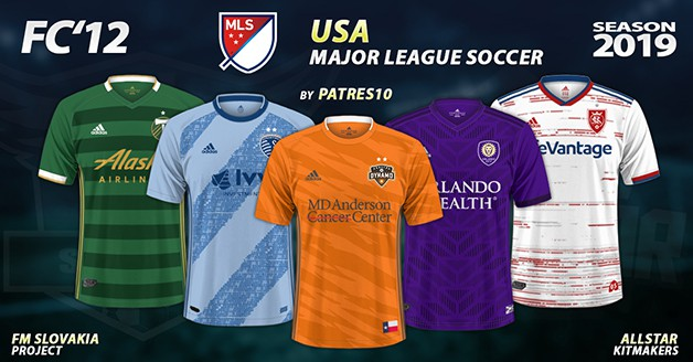 Football Manager 2019 Kits - FC'12 USA – MLS 2019