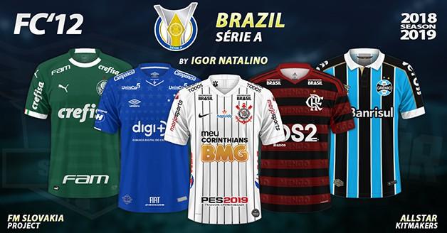 Football Manager 2019 Kits - FC'12 Brazil – Série A 2019