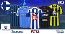 FC'12 Finland – Veikkausliiga 2019