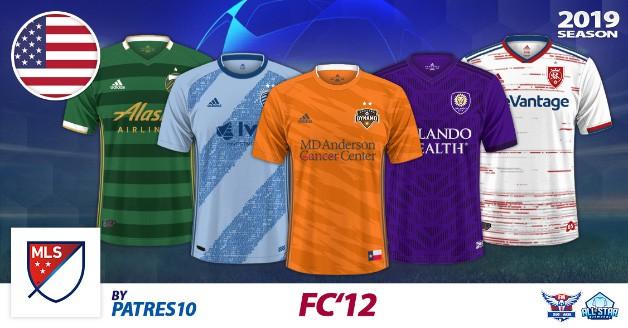 Football Manager 2019 Kits - FC'12 USA – MLS 2019