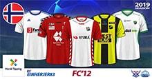 FC'12 Norway – NorskTipping-Ligaen 2019