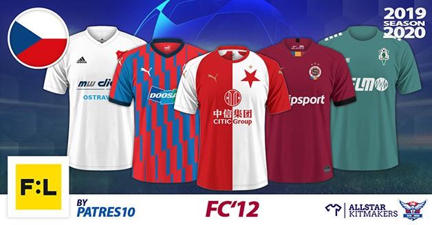 Football Manager 2019 Kits - FC'12 Czech republic – Fortuna liga 2019/20