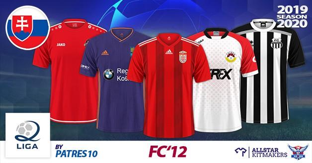 Football Manager 2020 Kits - FC'12 Slovakia – 2. liga 2019/20