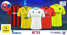 FC'12 Slovakia – Fortuna Liga 2019/20