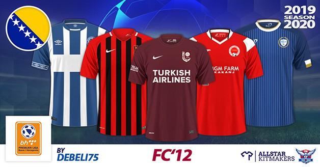 Football Manager 2020 Kits - FC'12 Bosnia and Herzegovina – Telecom Premijer Liga 2019/20