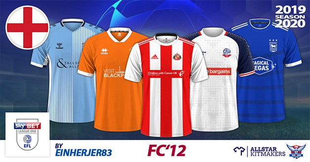Football Manager 2020 Kits - FC'12 England – League One 2019/20