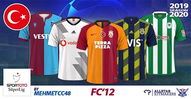Football Manager 2020 Kits - FC'12 Turkey – Spor Toto Süper Lig 2019/20
