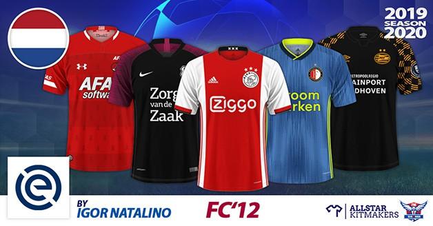 Football Manager 2020 Kits - FC'12 Netherlands – Eredivisie 2019/20