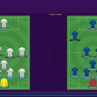 England v Italy  Formations