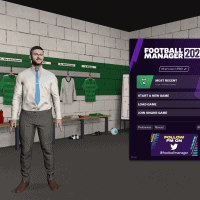 Football Manager 2021  Main Menu
